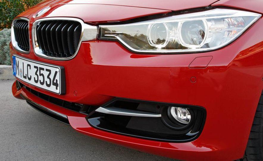 2012 BMW 320d Modern sedan, 328i Luxury sedan, and 328i Sport Line sedan - Slide 53