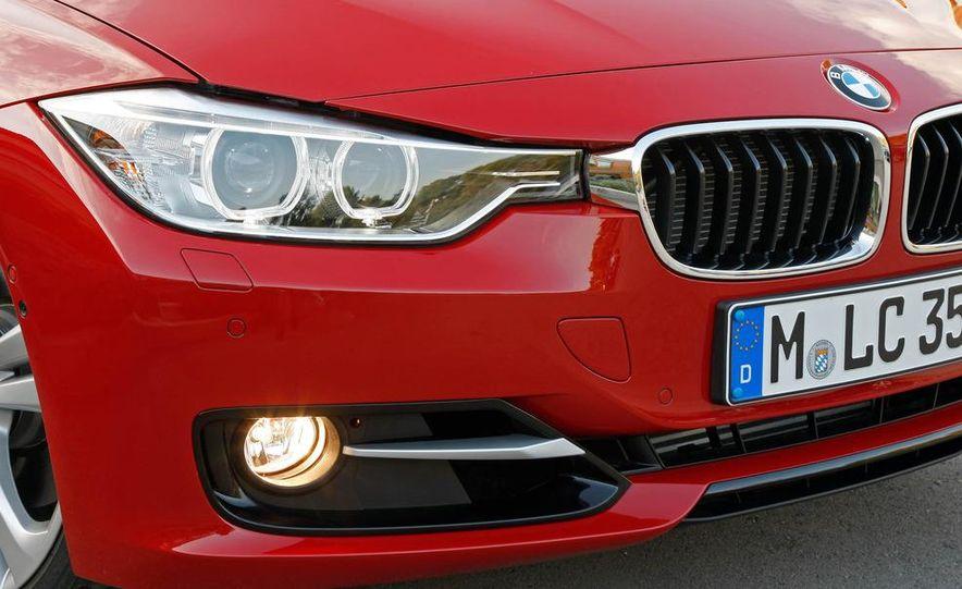 2012 BMW 320d Modern sedan, 328i Luxury sedan, and 328i Sport Line sedan - Slide 55