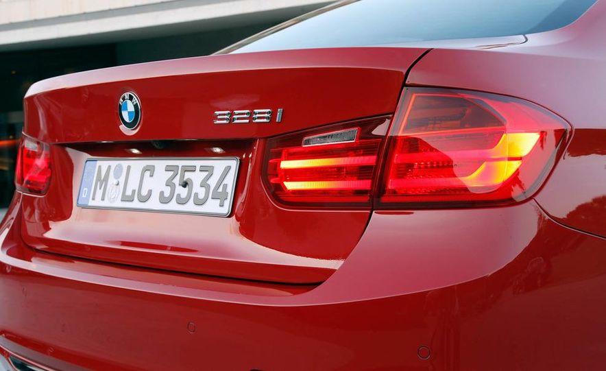 2012 BMW 320d Modern sedan, 328i Luxury sedan, and 328i Sport Line sedan - Slide 58
