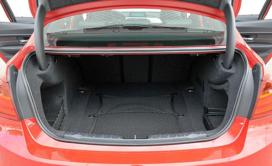 2012 BMW 320d Modern sedan, 328i Luxury sedan, and 328i Sport Line sedan - Slide 69