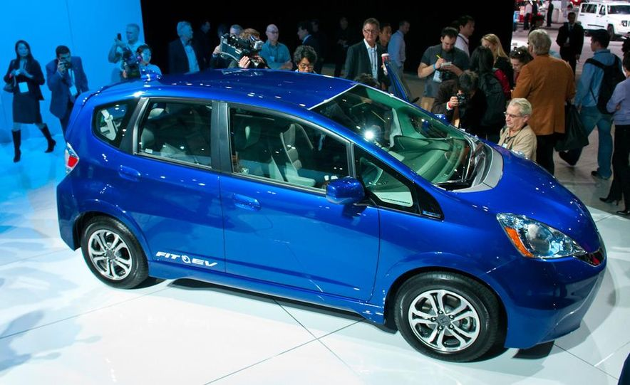 2013 Honda Fit EV - Slide 1