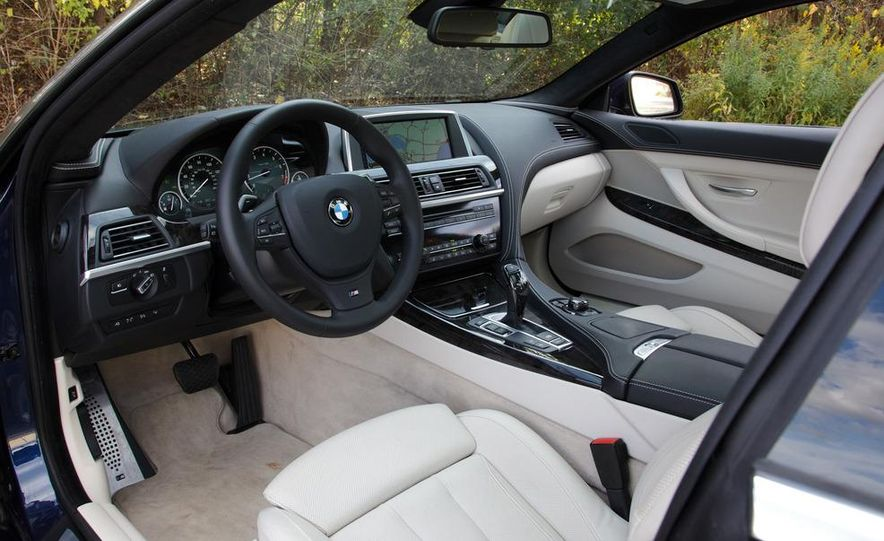 2012 BMW 650i coupe - Slide 14