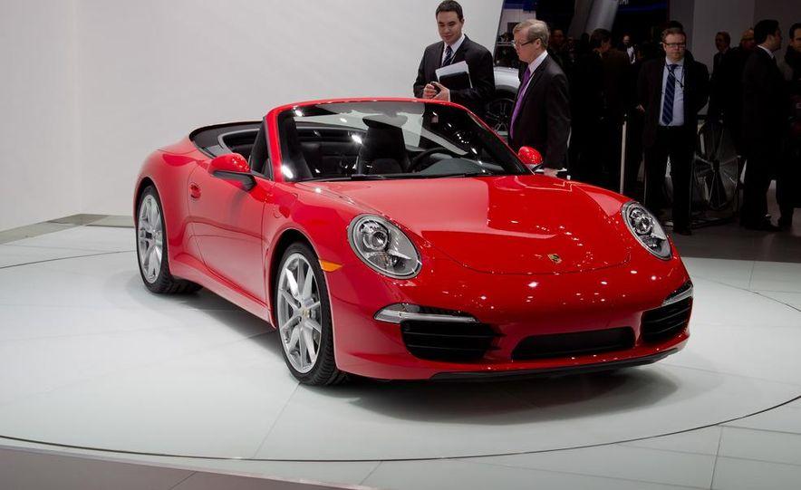 2012 Porsche 911 Carrera S Cabriolet - Slide 3