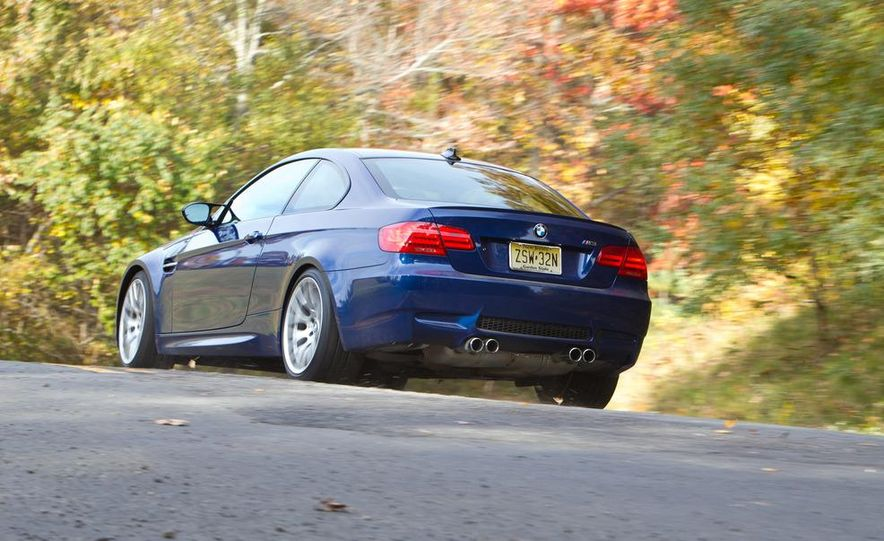 2012 Mercedes-Benz C63 AMG coupe and 2012 BMW M3 coupe - Slide 21