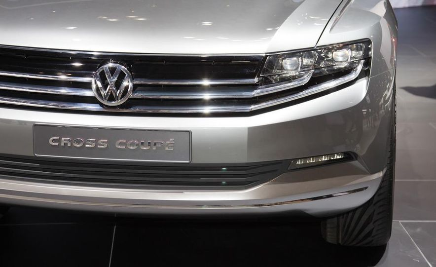 Volkswagen Cross Coupé concept - Slide 9