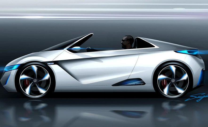 Honda EV-STER small sports car concept - Slide 12