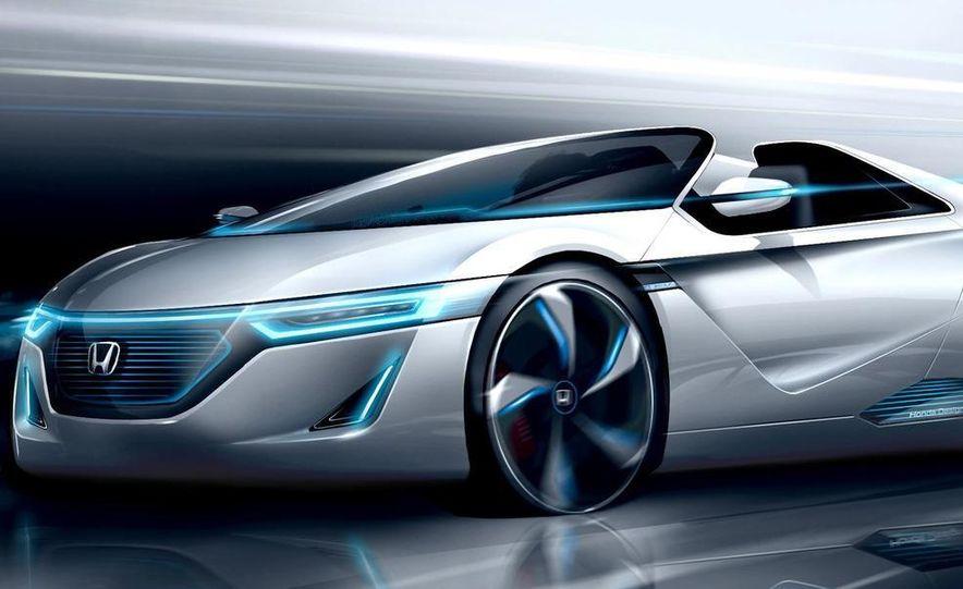 Honda EV-STER small sports car concept - Slide 13