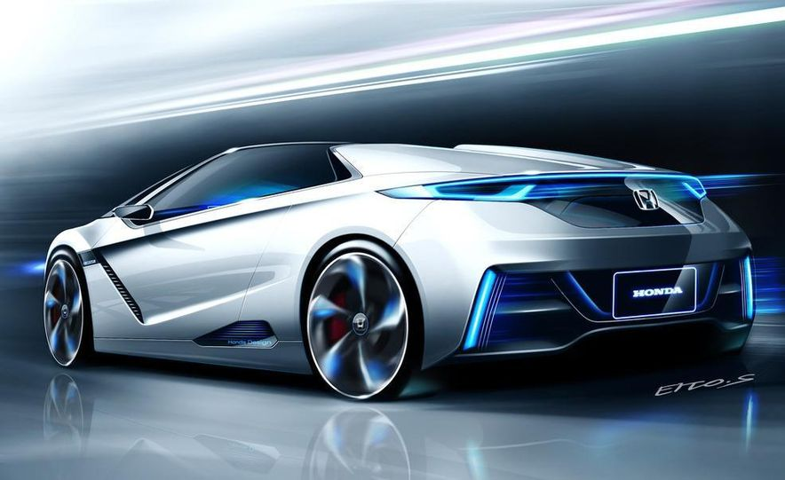 Honda EV-STER small sports car concept - Slide 14