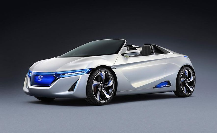 Honda EV-STER small sports car concept - Slide 1