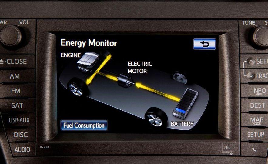 2012 Toyota Prius plug-in hybrid - Slide 27