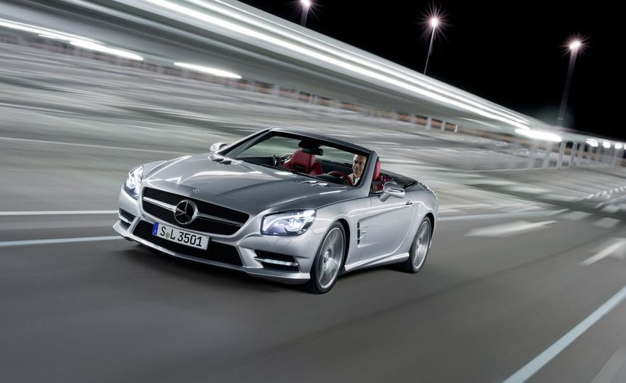 2013 Mercedes-Benz SL550 - Slide 17