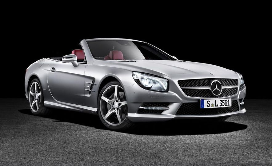 2013 Mercedes-Benz SL550 - Slide 18