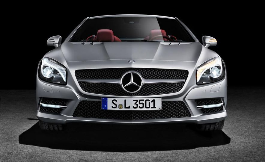 2013 Mercedes-Benz SL550 - Slide 19