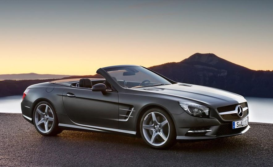 2013 Mercedes-Benz SL550 - Slide 25