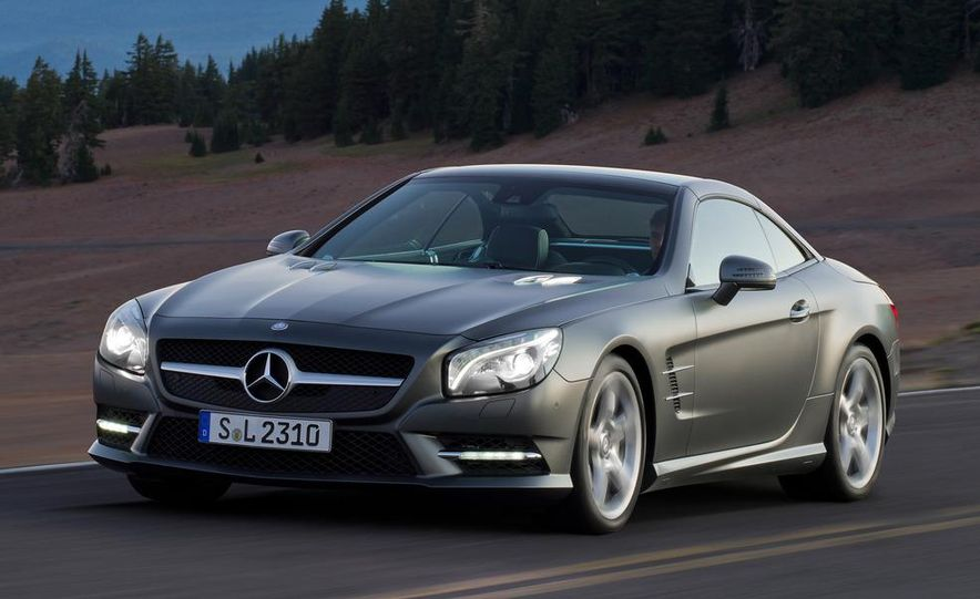 2013 Mercedes-Benz SL550 - Slide 26