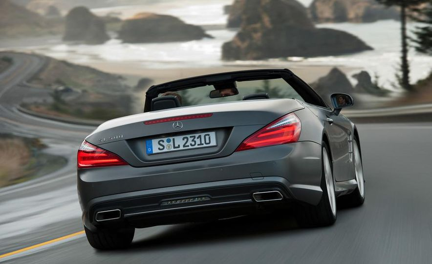 2013 Mercedes-Benz SL550 - Slide 28