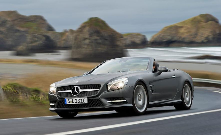 2013 Mercedes-Benz SL550 - Slide 29