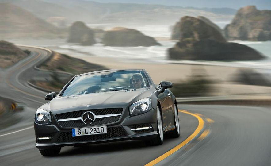 2013 Mercedes-Benz SL550 - Slide 31