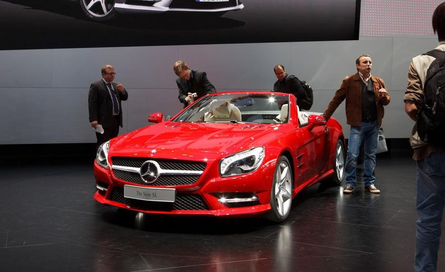 2013 Mercedes-Benz SL550 - Slide 4