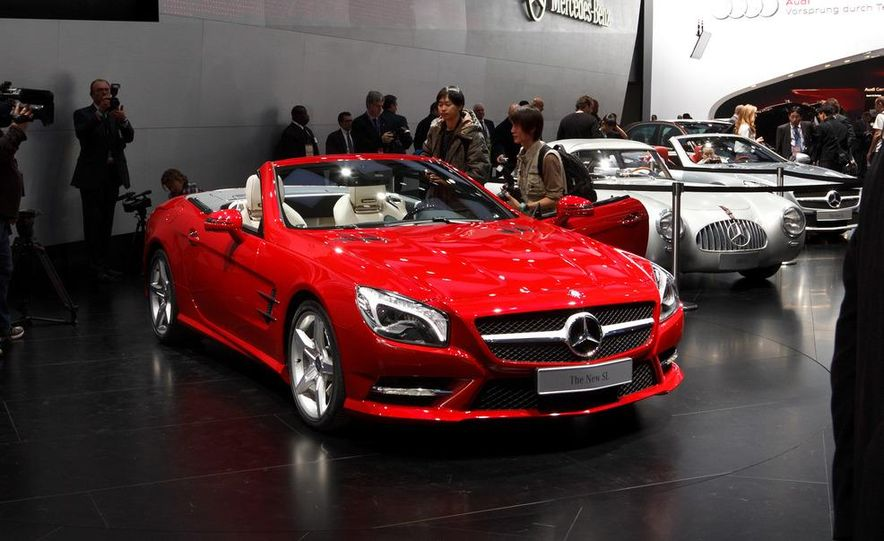 2013 Mercedes-Benz SL550 - Slide 1