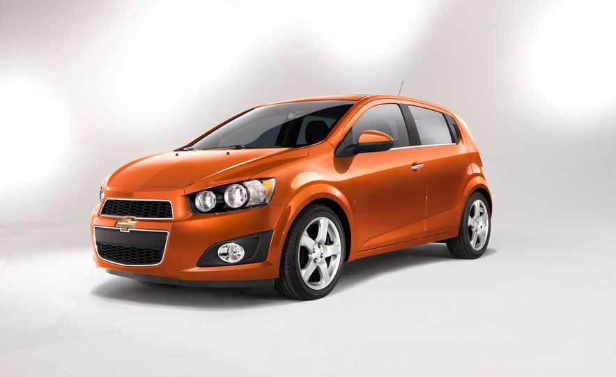 2013 Chevrolet Sonic RS - Slide 29