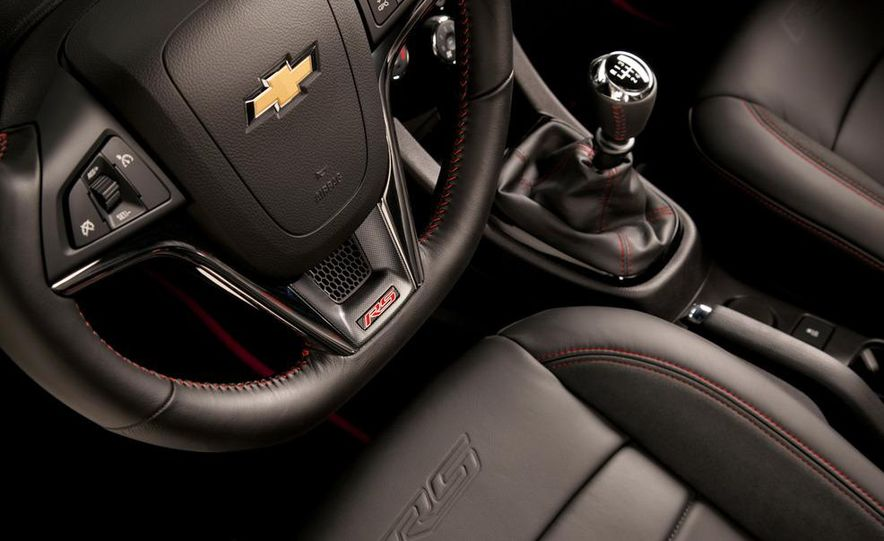 2013 Chevrolet Sonic RS - Slide 20