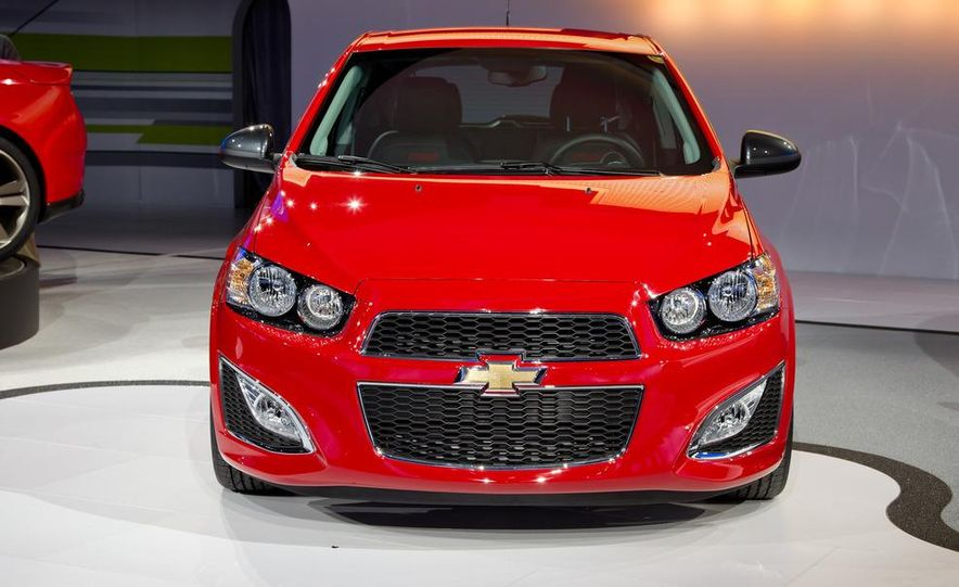 2013 Chevrolet Sonic RS - Slide 1