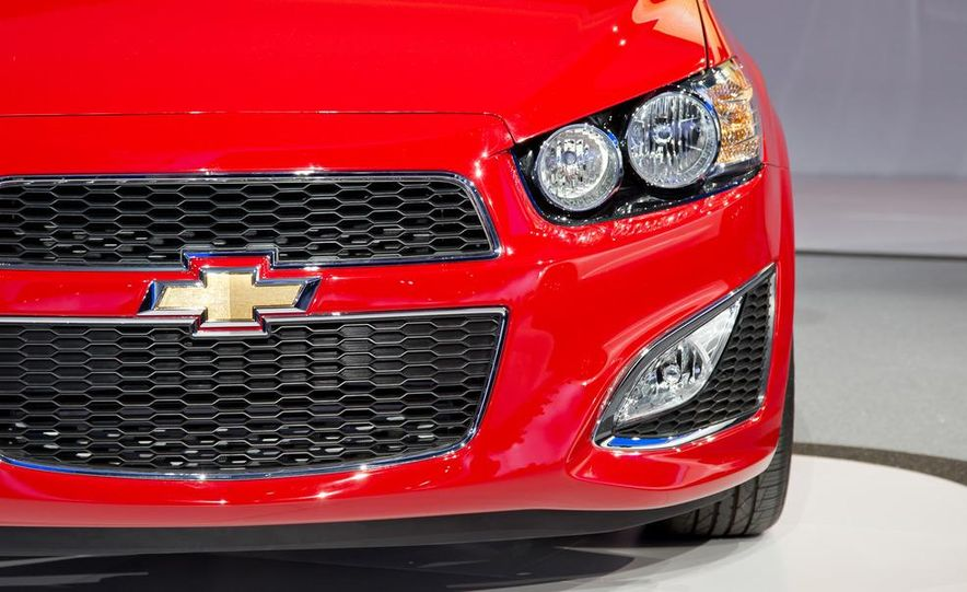 2013 Chevrolet Sonic RS - Slide 2