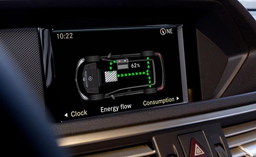 2013 Mercedes-Benz E400 Hybrid - Slide 12