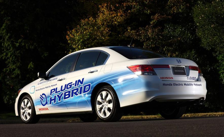 Honda Accord plug-in hybrid - Slide 5