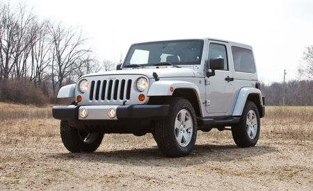2012 Jeep Wrangler Sahara 4x4 Manual