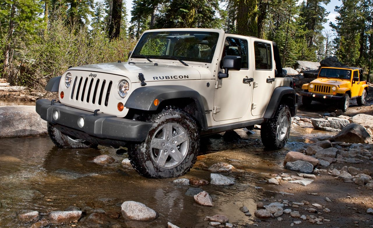 2012 Jeep Wrangler Unlimited Rubicon Test  Review  Car and Driver