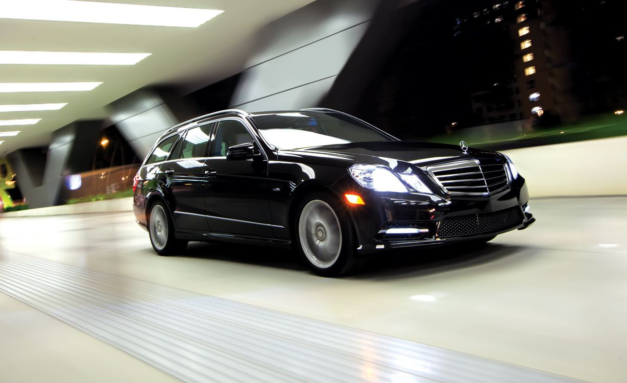 2012 Mercedes Benz E350 4matic Wagon Instrumented Test