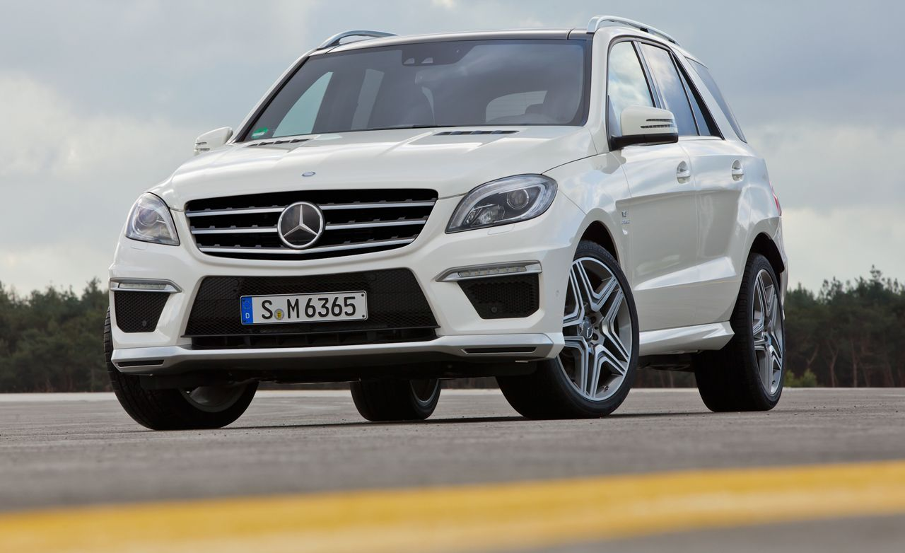 Driven: 2012 Mercedes-Benz ML63 AMG - Winding Road
