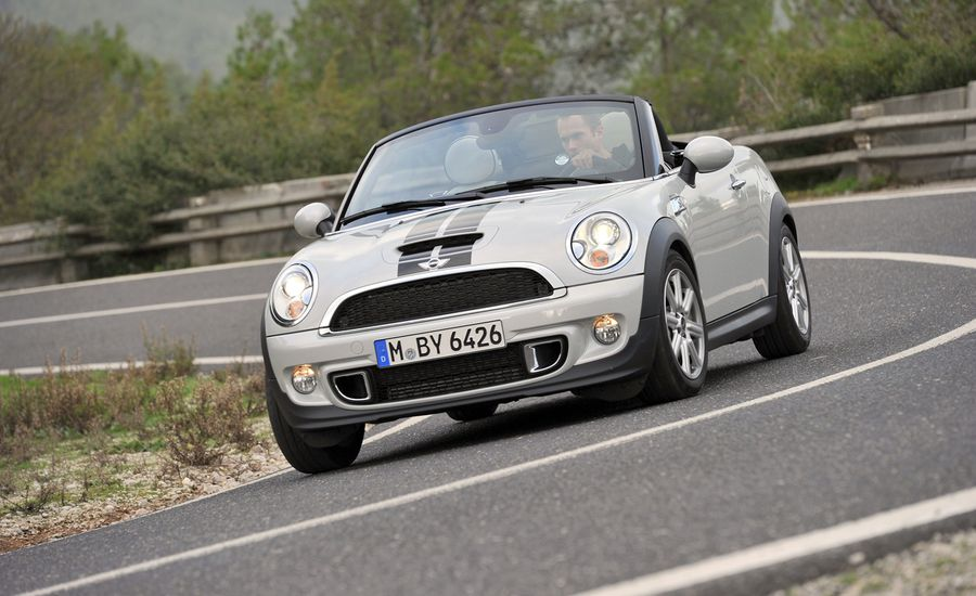 2012 mini cooper s roadster first drive review car and. Black Bedroom Furniture Sets. Home Design Ideas