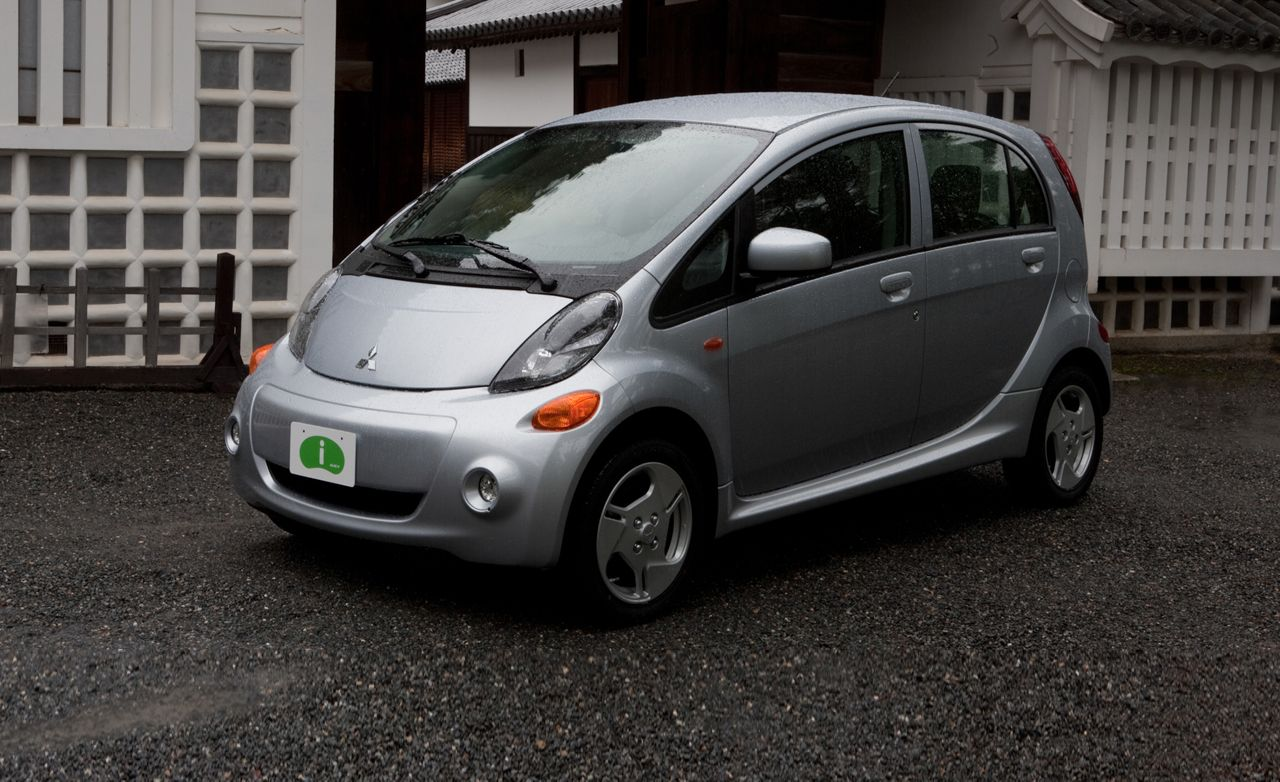 Mitsubishi Electric Car >> 2012 Mitsubishi I Electric Vehicle Test Review Car And Driver