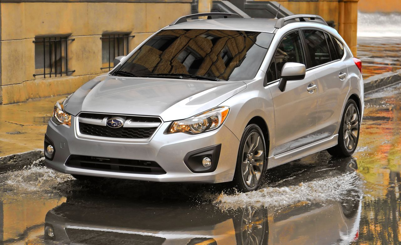 2012 subaru impreza 2.0 cvt hatchback test – reviews – car and driver