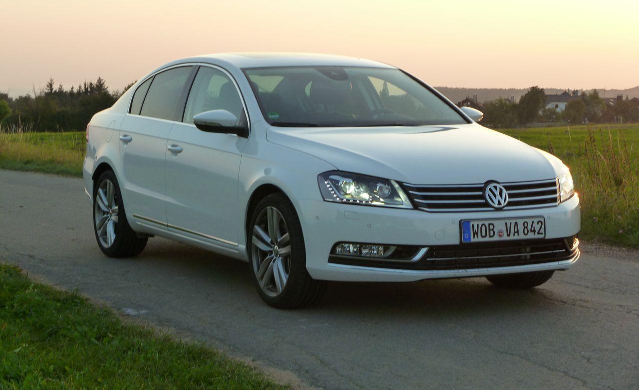 Volkswagen passat reviews 2012