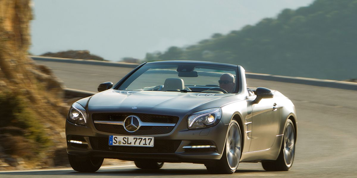 2013 Mercedes Benz SL550 First Drive 8211 Review Car And Driver