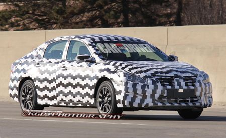 2013 Nissan Altima Spy Photos