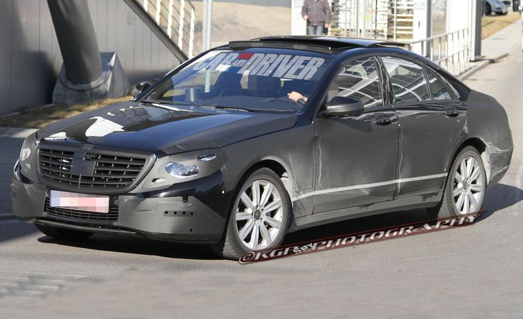 2014 Mercedes-Benz S-class Spy Photos