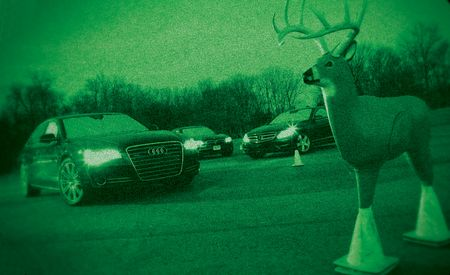 Night Light: Night-Vision Systems Compared from BMW, Mercedes, and Audi