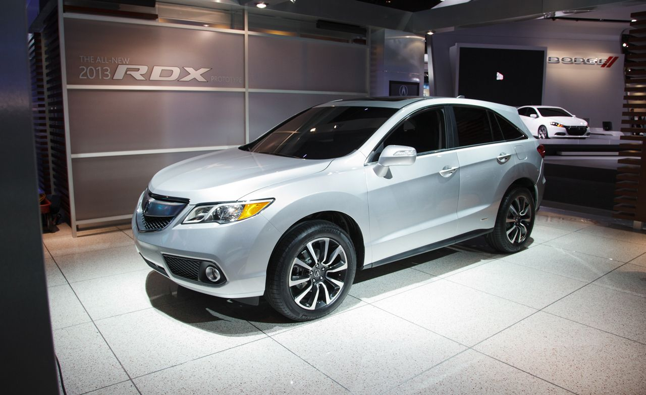 2013 acura rdx photos and info news car and driver. Black Bedroom Furniture Sets. Home Design Ideas