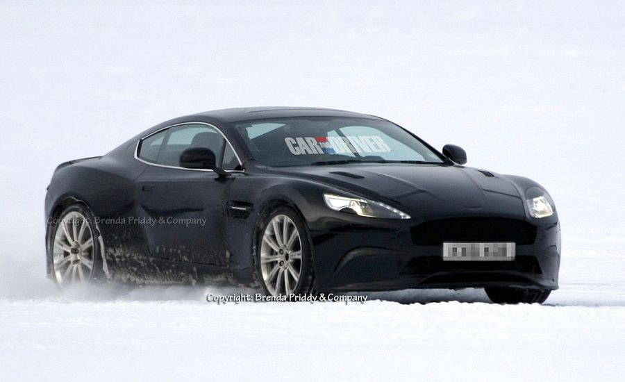 2013 Aston Martin DBS Spy Photos