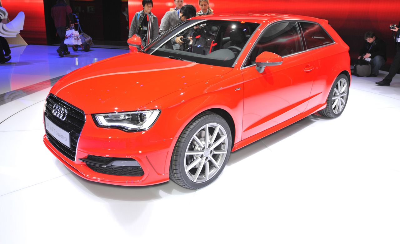 2013 Audi A3 Three-Door Hatchback