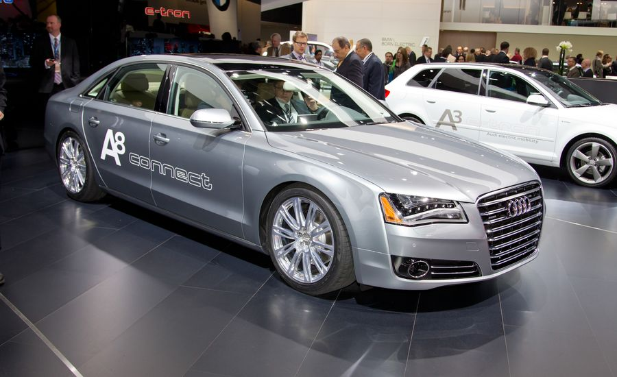 2013 Audi A8 30t Photos And Info News Car And Driver