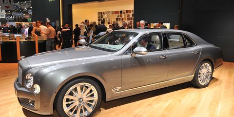 2013 Bentley Mulsanne Mulliner Driving Specification Photos And Info