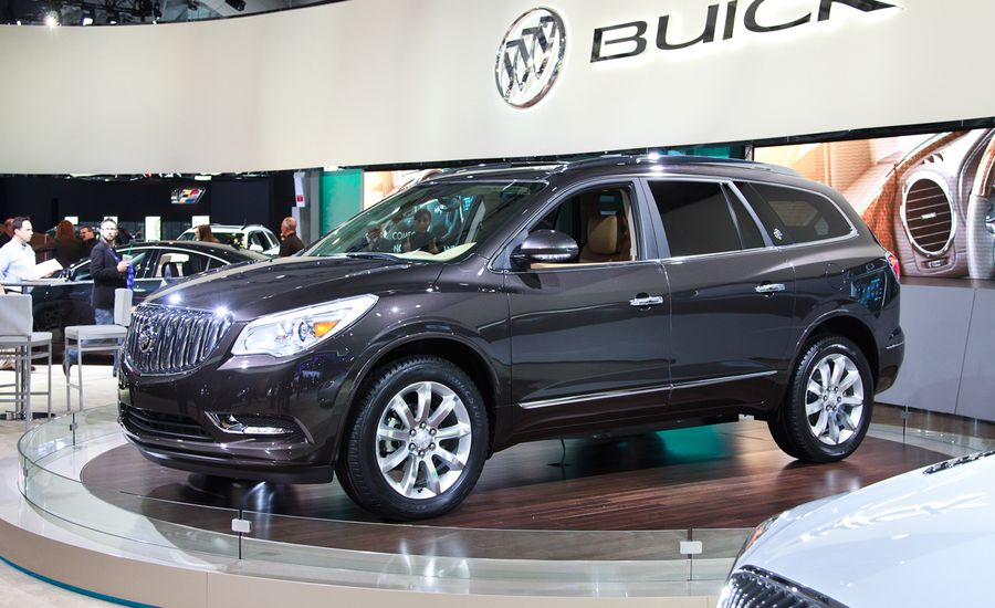 buick reviews first awd truck test trend rear enclave price premium