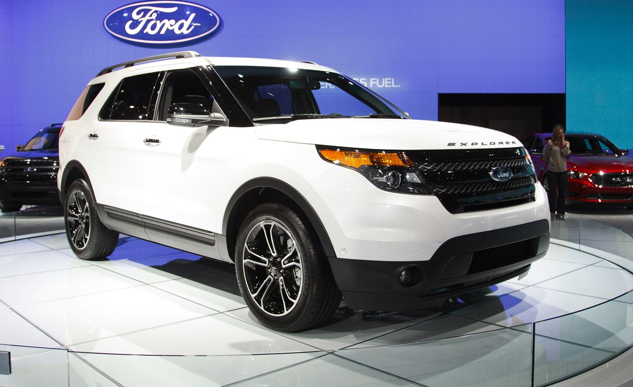 2013 Ford Explorer Sport Photos and Info | Car News | Car and Driver