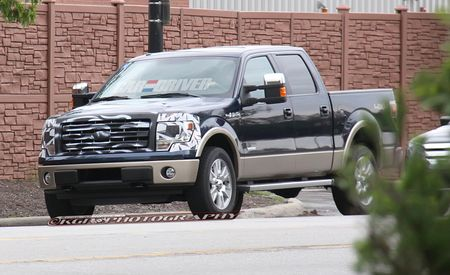 2013 Ford F-150 Spy Photos